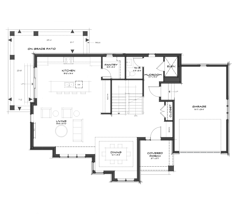 Paradis - Main Floor