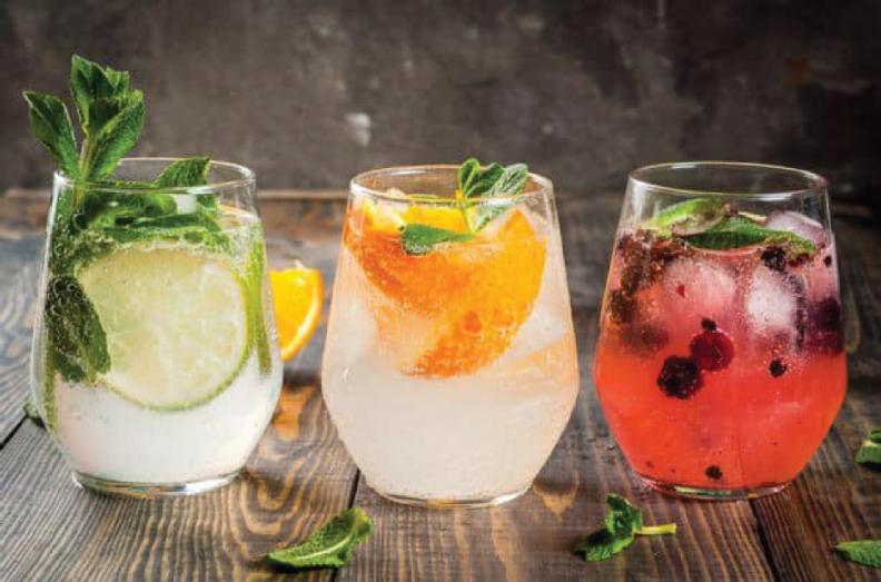 3 cocktails